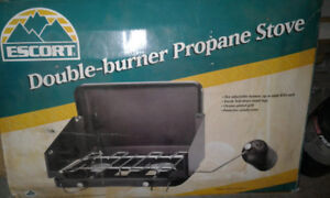 Camping stove with Propane tanks