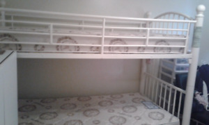QUICK SALE Bunk  BED  / OR SINGLE  BED No mattress  480.00