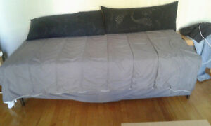 """TWIN BED.  39""""x72""""  LIKE NEW  QUICK SALE"""