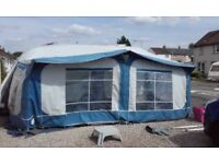 Blue Pyramid Full Caravan Awning