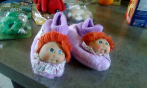 Cabbage patch slippers