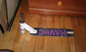 Scooter deck