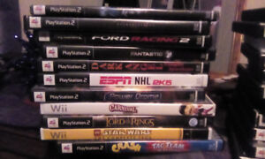 11 various PS2 games ...working condition