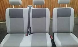 VW Transporter kombi seats