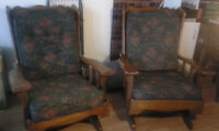 Confortable chairs