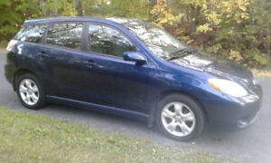 "2006 Toyota Matrix Xr Familiale ""Excellente Condition"""