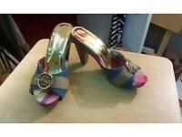 Size 8 golddigga shoes