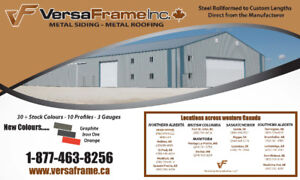 Metal Roofing & Siding - Manufactured in British Columbia