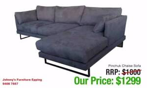Corner Lounge And Chaise Sofa Factory Outlet - See Pictures