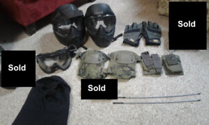 Miscellaneous Airsoft Gear - $40 for all, or inbox for portions