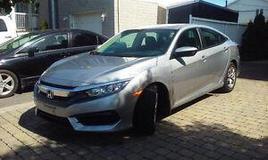 2016 Honda Civic cession de bail, transfer,1ere paiment GRATUIT