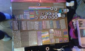 Art supplies assorted