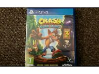 Crash ( 3 Games includes ) PS4
