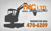 SMALL EXCAVATION SERVICES (Fredericton Areas) 470-6209