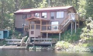 HOT TUB Private FirePit sleeps8 2hrs fromTO Bass & Trout Fishing