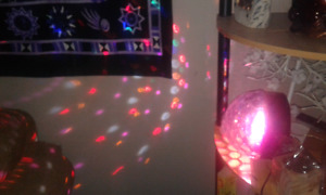 Disco party glow dance ball light club strobe