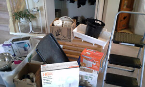 Various household items like new condition
