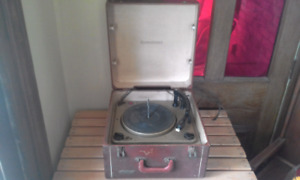 Vintage admiral record player