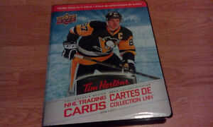 2016-17 Tim Hortons Hockey card MASTER SET all 175 cards in Tims