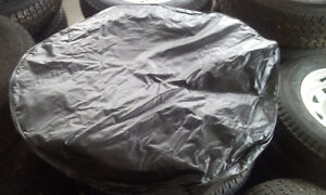 BRAND NEW NAVY AND BLACK TIRE COVERS London Ontario image 2