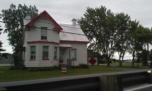 maison St-Charles sur richelieu en bordure du richelieu