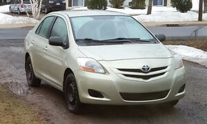 2007 Toyota Yaris Sedan, newly inspected, $2885