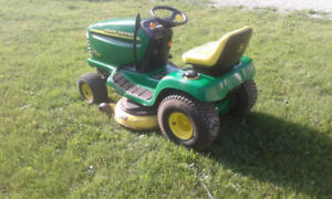 ** John Deere riding lawnmower Hydrostatic LX 42 inch **