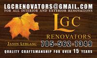 Free Estimates on All Renovations