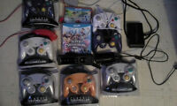 Wii U games+accessories Prices negotiable on a best offer basis