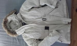 Manteau beige NORTH FACE (tout neuf) taille S - vendu avec gants
