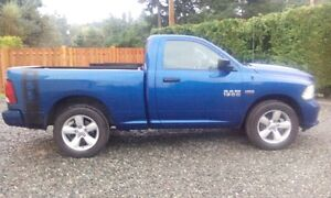 2014 Ram 1500 ST Pickup Truck Campbell River Comox Valley Area image 1