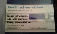 Action Pinceau, Peintre en Bâtiment SPÉCIAL PROMO / JUILLET !