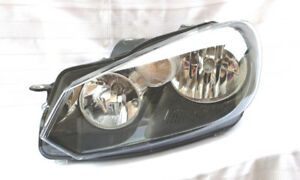 VW GOLF HEADLIGHT LEFT DRIVER 10 11 12 13 14 - BRAND NEW