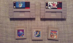 Jeux Super Nintendo Snes et Game Boy