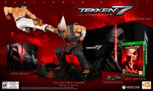 Brand New Tekken 7 Collector's Edition for Xbox One