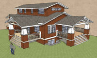 Residential Design and Drafting Services (Lower Mainland)