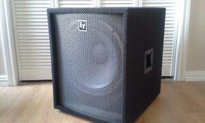 Aubaine sub Électro-Voice 18''  $ 250.00