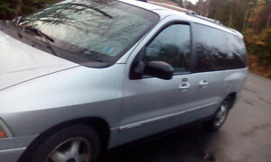 2001 Ford Minivan, Van 980 cash firm if today before 6pm MVI2018