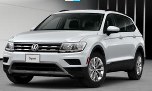 2018 new Volkswagen SUV  TIGUAN ALL Wheel Drive. Low lease price