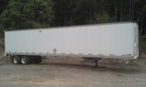 53 foot Roussy Dry Van. Very good Condition.