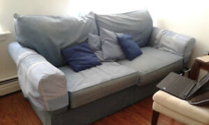 MOVING great couch $50