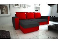 Corner Sofa Bed Olivia