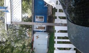 Chalet meublé à vendre au camping terrasse rougemont