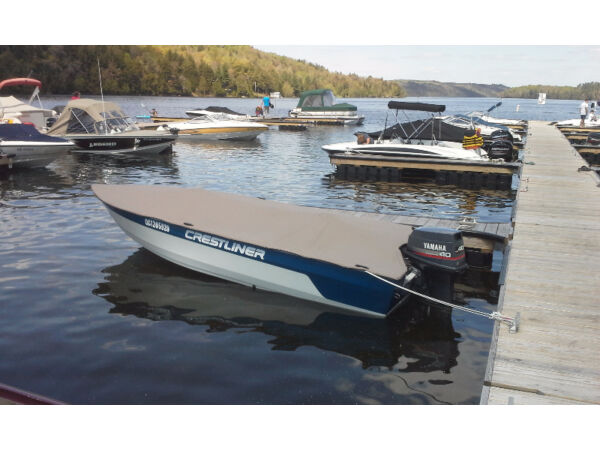 Used 1995 Crestliner fish hawk 1600