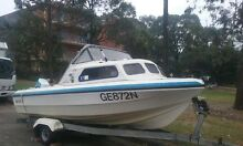 For sale my 17 ft swift craft half cab Greenacre Bankstown Area Preview