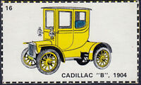 Automobile Cut-out Cards Wanted