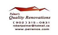 PALMER'S QUALITY RENOVATIONS