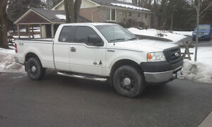 2007 Ford F-150 Truck Ext cab seats 6 AC 4x4 WANT GONE TODAY