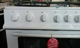 (ex display) Swan SX2061W 60cm Double Oven Gas Cooker