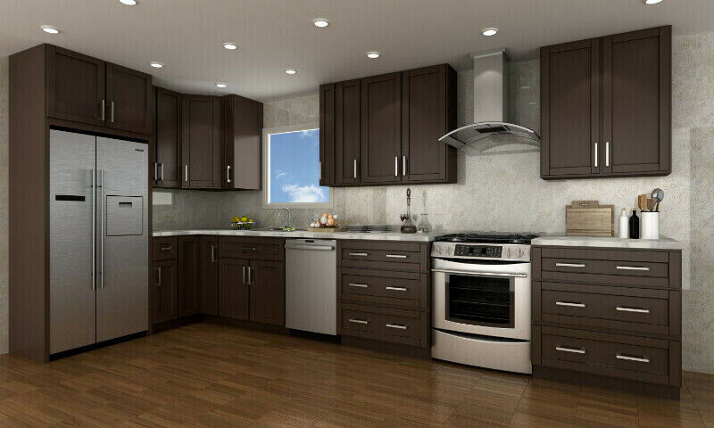 Warehouse Direct Sell Solid Wood Kitchen Cabinets ...